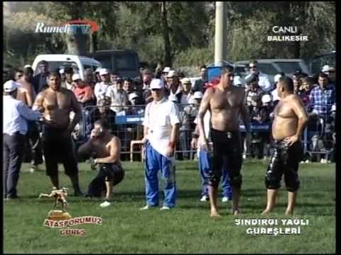 Sındırgı Yağlı Güreşleri -Rumeli Tv Canlı Yayını