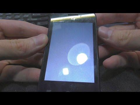 Почему белый экран на телефоне