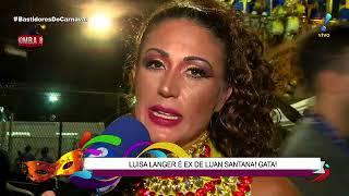 Luisa Langer diz que foi pivô da separação de Luan Santana e Jade Magalhães