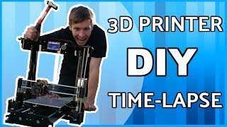 Time Lapse DIY 3D Printer Build & Thoughts - What Should I Make?