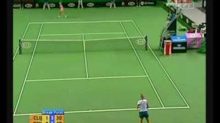2007 Australian Open R3 Kim Clijsters vs Alona Bondarenko