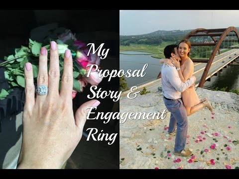 I'M ENGAGED  MY PROPOSAL STORY AND ENGAGEMENT RING  CHRISTINABTV