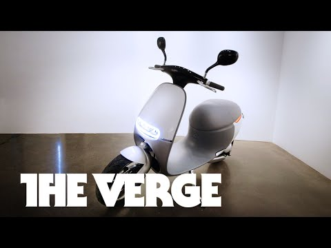 The electric scooter of the future
