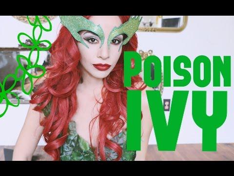 Maquillaje de Poison Ivy