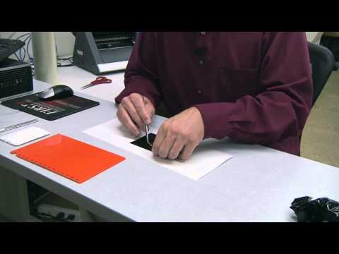 Vinyl Cutter Roland GX-24 - How to Use