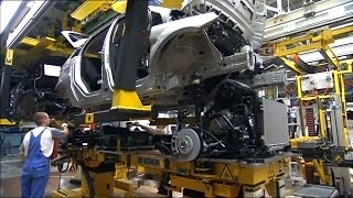 How to make Mercedes B-class w245. Plant in Rastatt.
