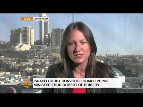 Israeli ex-PM Olmert convicted of corruption