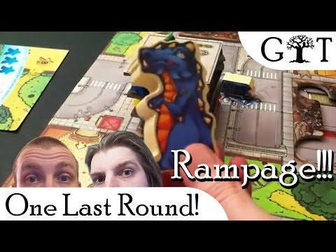 One Last Round - Rampage, Shadow Hunters and Game Talk! - Grim Tree Games