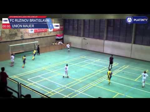 Tor -  FC Ruzinov Bratislava / Union Mauer am 13.02.2016 17:27