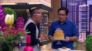 Sule Dapet Kue Ulang Tahun Hits Terbuat Dari Mi Instan