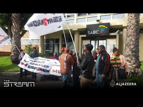 The Stream - South Africa's media war