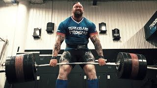 THE MOUNTAIN 455 Kg RAW DEADLIFT!!! Zu Gast bei Hafthor Bjornsson.