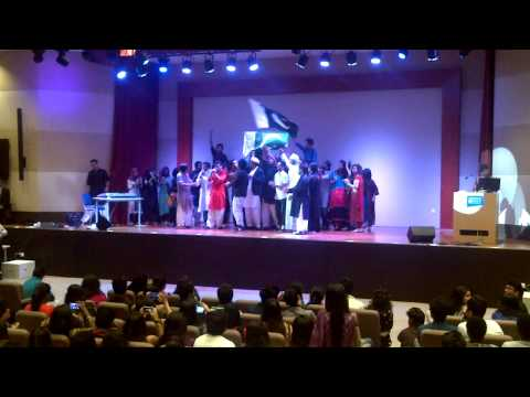 Pakistani Performance jazba Junoon - Heriot Watt University Dubai Campus video
