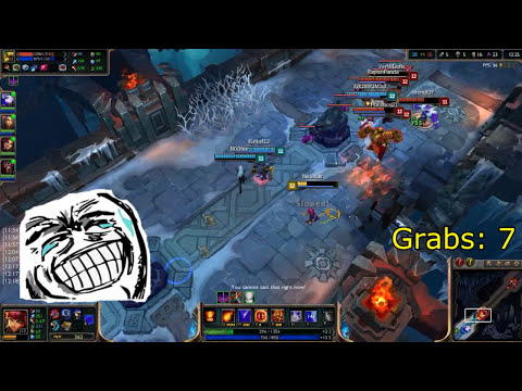 League of Legends: para de agarrarme blitz! (jugando)