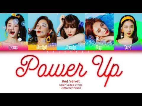 Download Lagu  Red Velvet 레드벨벳 - Power Up 파워업 Color Coded s HAN/ROM/ENG Mp3 Free