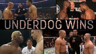 Best Underdog Wins In MMA