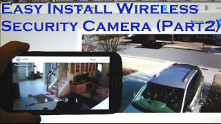 02. Easy Install Wireless Home Security Camera (PART 2) MOTOROLA FOCUS66
