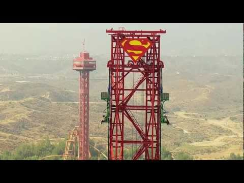 Lex Luthor's Drop of Doom - Six Flags Magic Mountain