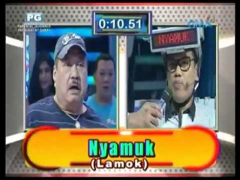 Uya Kuya and Jimmy Santos in Eat Bulaga Pinoy Henyo International Edition