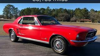 1967 Ford Mustang  Used Cars - Hope Mills,NC - 2019-01-20