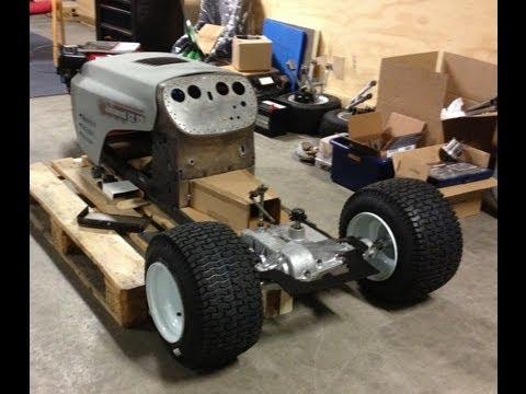Building a Racing Lawn Mower part 3.1 - Tour