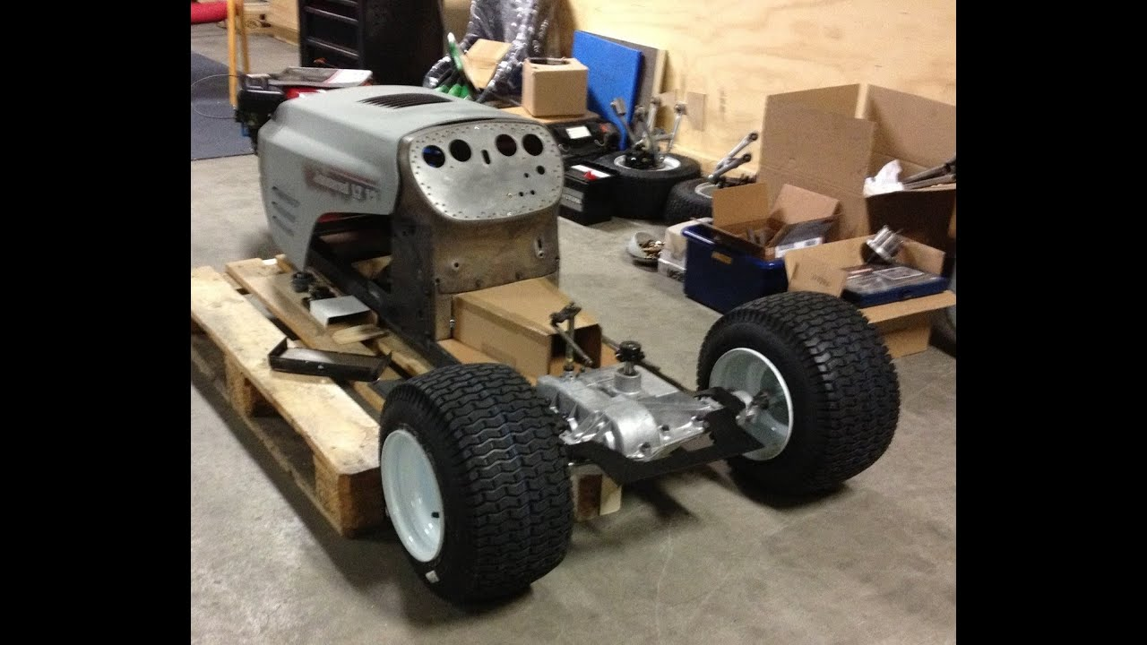 Building A Racing Lawn Mower Part 3 1 Tour Youtube