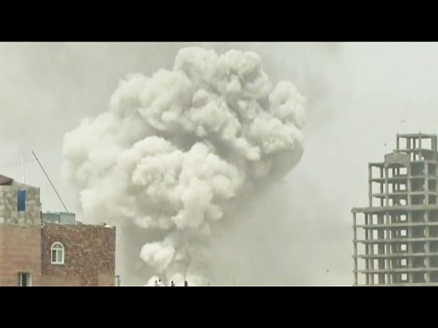 Yemen: deadly air strike hits rebel base - no comment