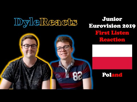 Junior Eurovision 2019 - Poland - REACTION #DyleReacts