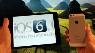 Untethered iOS 6.1, Jailbreak 6.0.2 Achieved iPhone 5 Jailbroken iOS 6 iPad 6.0.1 & Release