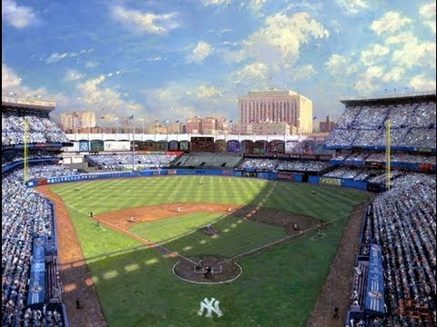 Yankee Stadium by Thomas Kinkade