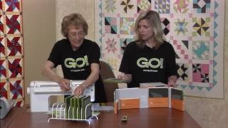 Making the GO! Double 4-Patch Block with Eleanor Burns