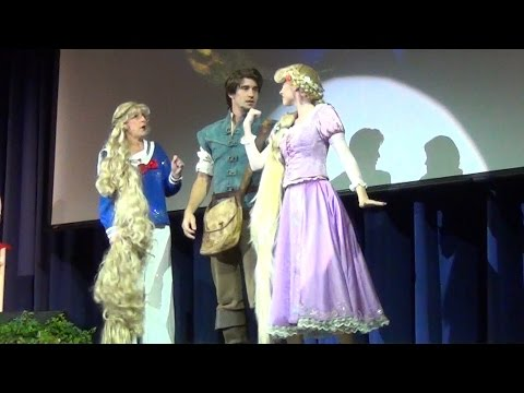Tangled The Musical Disney Cruise Line First Look w/ Rapunzel, Flynn Rider & NEW Concept Art