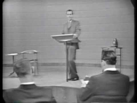 Kennedy Vs. Nixon - 1st 1960 Debate video