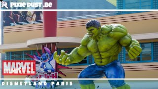 🔴Walt Disney Studios Park is ready to host the first MARVEL Summer of Super Heroes