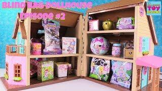 Blind Bag Dollhouse #2 Hatchimals CollEGGtibles Num Noms Shopkins Trolls Toy Review | PSToyReviews
