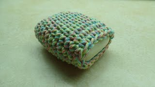 Crochet How to #Crochet Easy Cotton Soap Sock Washcloth #TUTORIAL #241 LEARN CROCHET