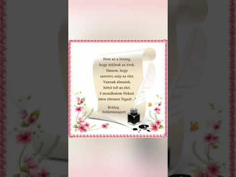 Boldog születésnapot kivánunk! Feleségedtől es gyermekeidtől sok szeretettel❤