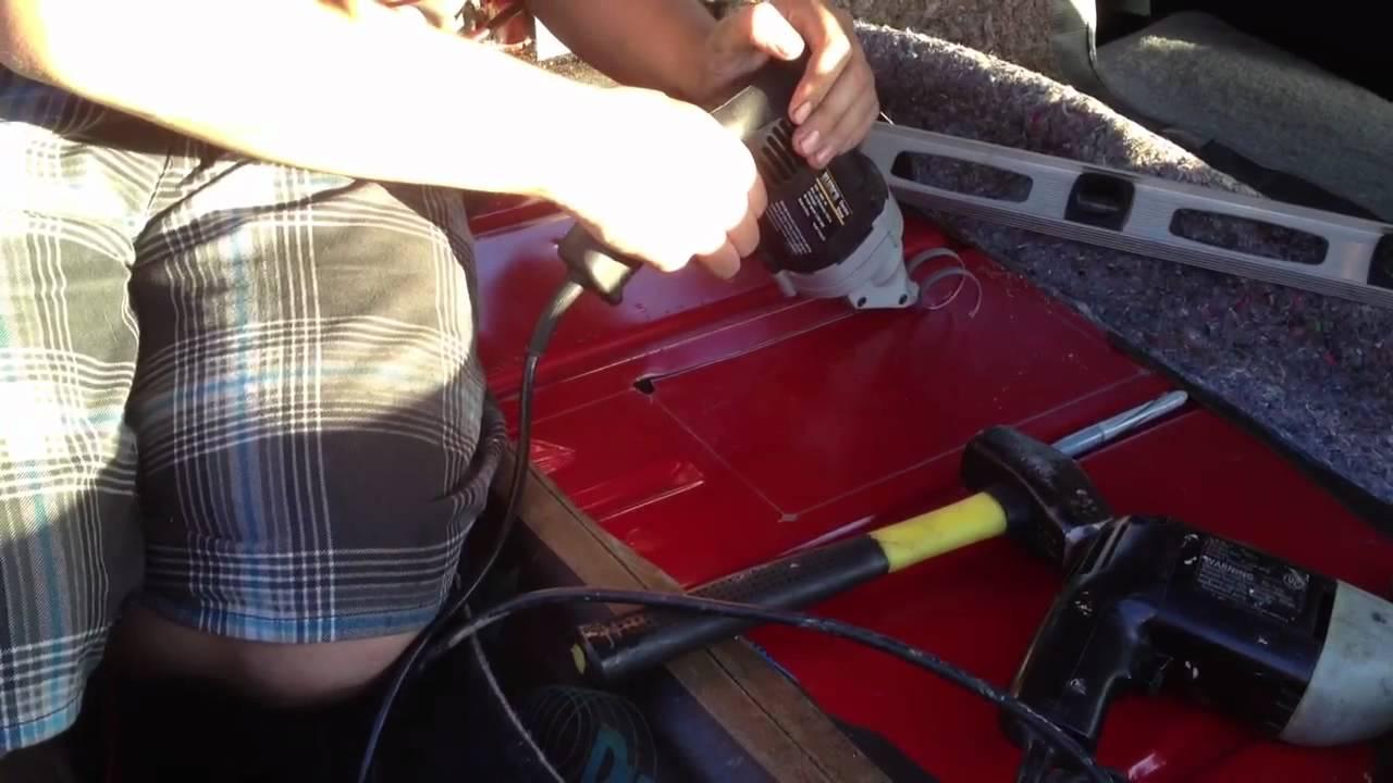 Camaro Fuel Pump Trap Door Youtube
