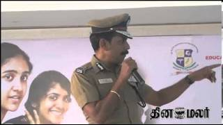 Sylendra Babu Speech on Civil Services at kovai Dinamalar Vazhikatti