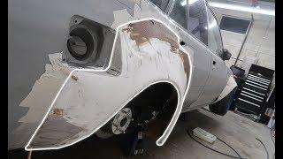Fuel Door Cut Out   Fender Flare Modifications