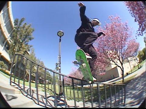Primitive Skateboarding Vision Test | Carlos Ribeiro