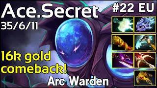 Ace [Secret] Arc Warden - Dota 2  7.18