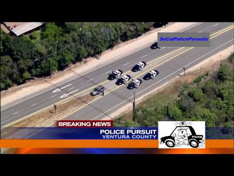 Southern California Police Pursuit - Apr 16, 2013