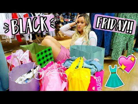 Black Friday Shopping 2017!! AlishaMarieVlogs