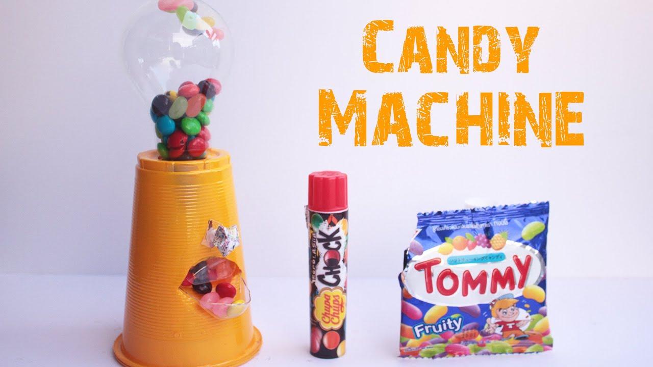 Как сделать автомат конфет из бумаги
