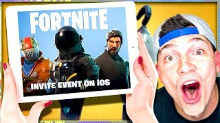 FORTNITE BATTLE ROYALE FOR MOBILE ANNOUNCEMENT