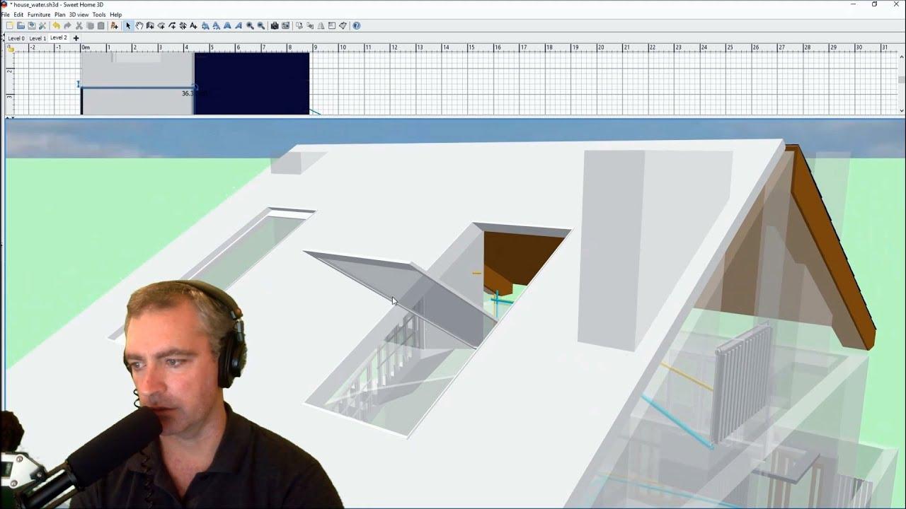 Как сделать крышу в 3d sweet home 3d 501