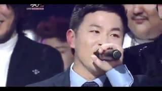 [110930]HuhGak Win Super Junior + KyuHyun sing Hello-HuhGak @MusicBank
