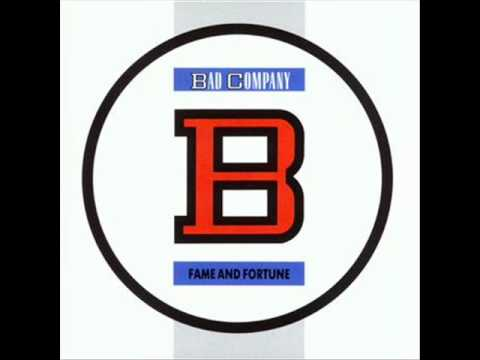 Cover image of song Fame and fortune by Bad company