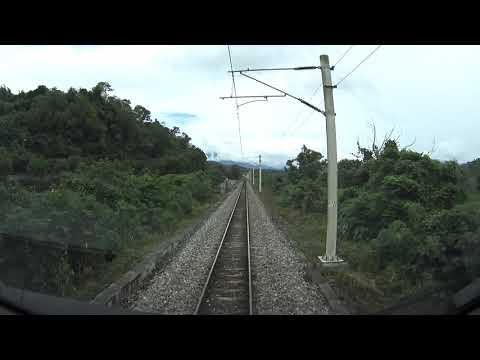 台遊-台灣鐵道影像-EP 0015-421次 TEMU1000 太魯閣號 台東 - 花蓮 - 台北 路程景